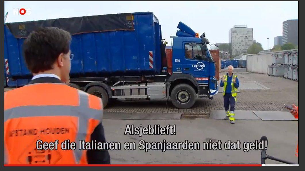 Spaanse en Italiaanse media vallen over lach van Rutte