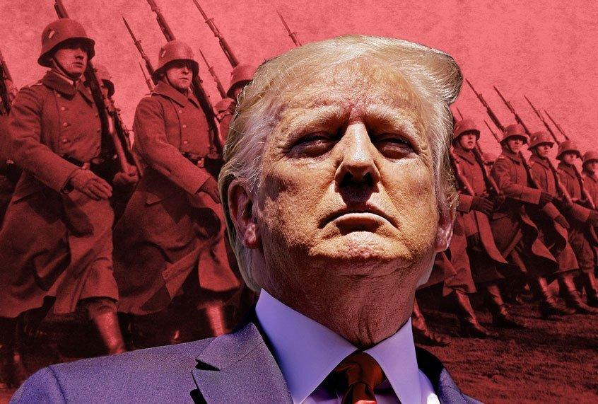 De kiezers van Trump wilden dit al die tijd – nu is het trollen veranderd in echt geweld