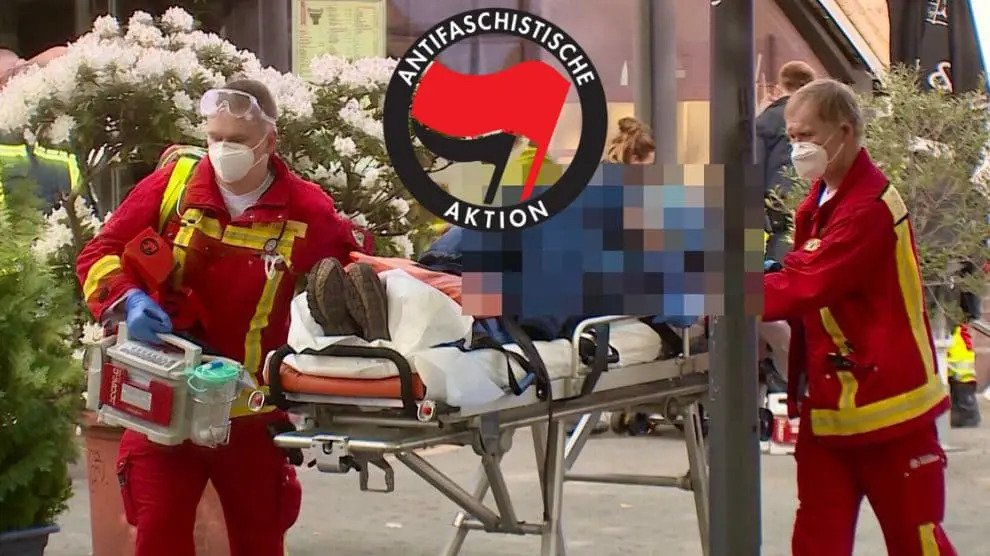 1 mei in Berlijn: ANTIFA-activisten slaan ZDF-team naar ziekenhuis – Groene jeugd juicht toe