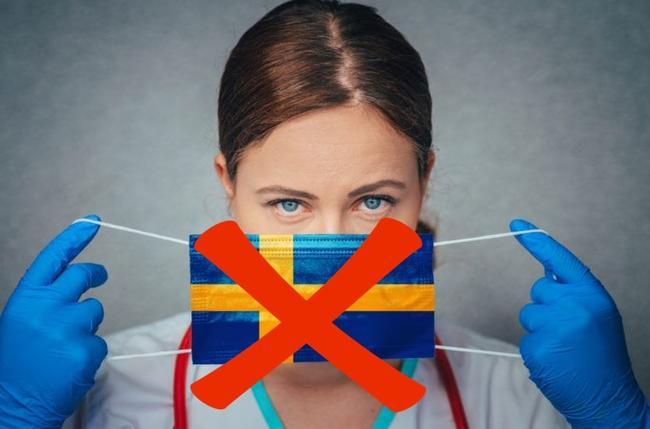 """Geen masker, geen probleem – Zweedse premier zegt dat gezichtsmaskers een """"vals gevoel van veiligheid"""" bieden tegen virussen"""