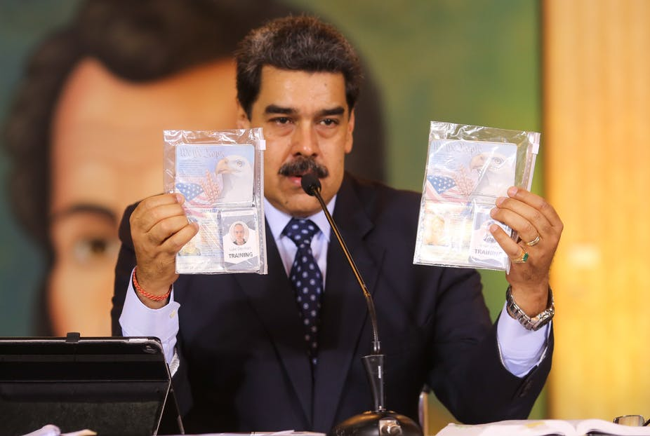 Venezuela mislukte inval: de VS heeft huurlingen gebruikt om andere regimes te ondermijnen