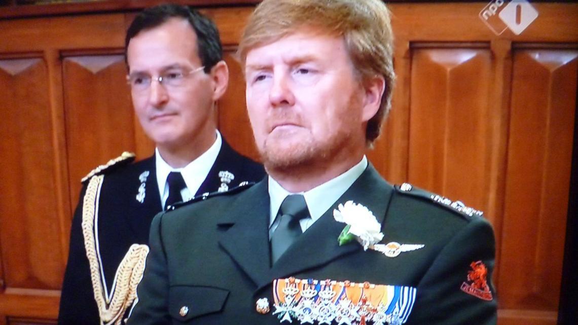 Veteranen schandalig door 'koning' Willem-Alexander behandeld