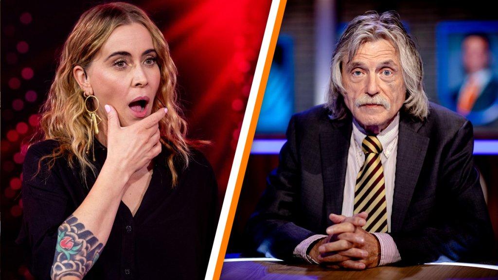 Kijk dan! Zangeres Anouk en Arie Boomsma gaan volledig los op Akwasi-criticus Johan Derksen: 'Ziek, hondenpoep! Racisme!'