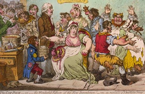 Maak kennis met de vegetarische anti-vaxxers die de pokkeninoculatie in Victoriaans Groot-Brittannië leidden