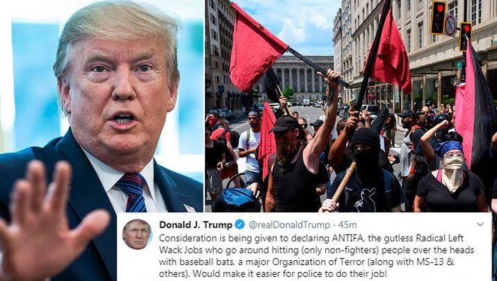 Het Antifa Derangement-syndroom van Trump