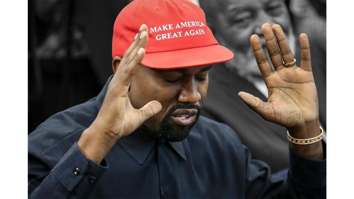 WTF: Kanye West wil president worden en denkt Biden te kunnen verslaan