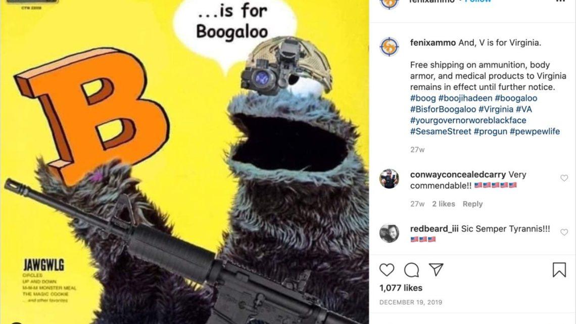 'Boogaloo'-gelovigen denken dat er een burgeroorlog komt. De vuurwapenbedrijven zijn openlijk marketing voor hen.