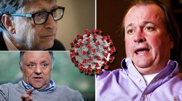 Boze Belgen dienen strafklacht in tegen virologen én Bill Gates