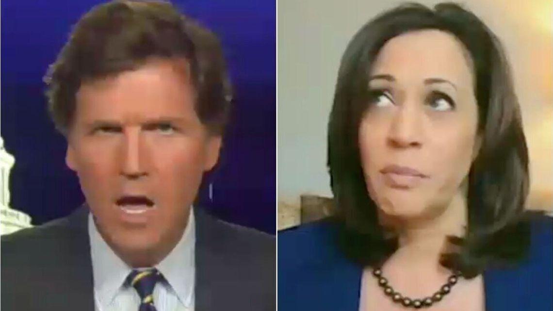 Tucker Carlson complot-theorie: Kamala Harris zal je een COVID-19-vaccin weigeren als je geen 'bepaalde kleur' hebt