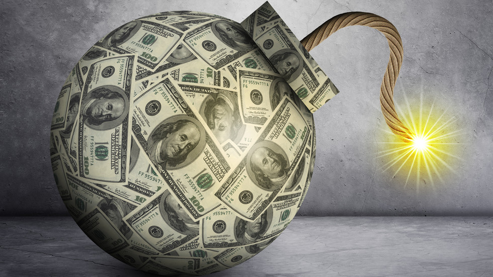Eindspel voor Amerika: Dollar letterlijk een BOM die elke dag kan afgaan, waarschuwt Peter Schiff