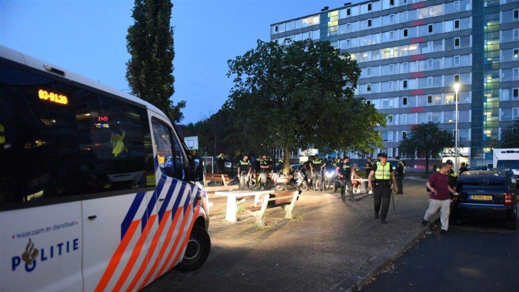 Eerst de anarchie in de VS, nu de onrust in grote steden Nederland