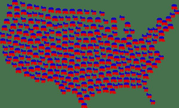 Primaire stemresultaten laten duidelijk zien welke richting Amerika op gaat
