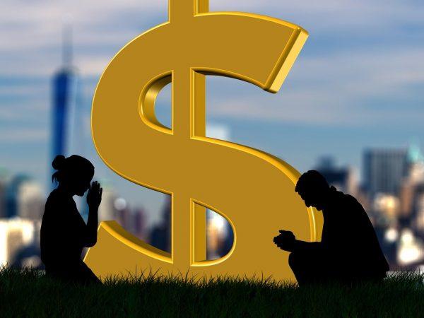 """Aanbidt Amerika """"een God van geld""""?"""