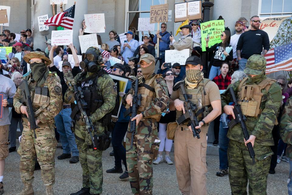 Welkom in Sectarisch Amerika: Een volk, verdeeld en gewapend