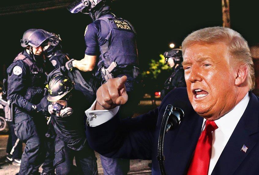Het signaal van Trump aan zijn volgers is duidelijk: geweld en chaos zijn mijn enige hoop