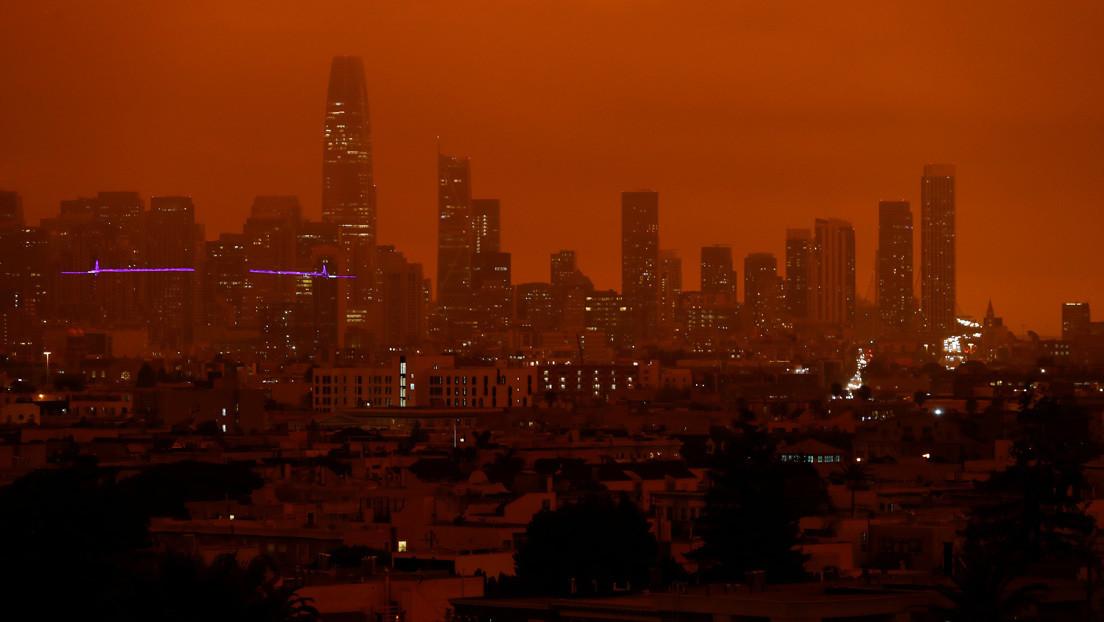 VIDEO: De lucht van San Francisco wordt rood en ziet er angstig uit vanwege zijn apocalyptische uiterlijk