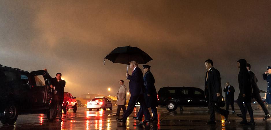 Wat Trump achterlaat als hij verliest