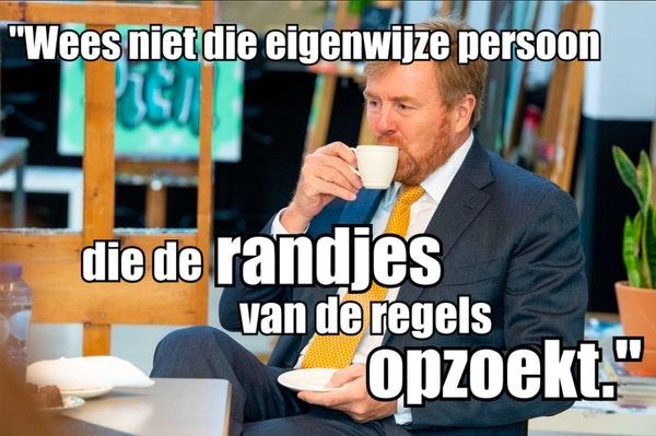 Willem Alexander en Maxima hebben gewoon schijt aan de burgers