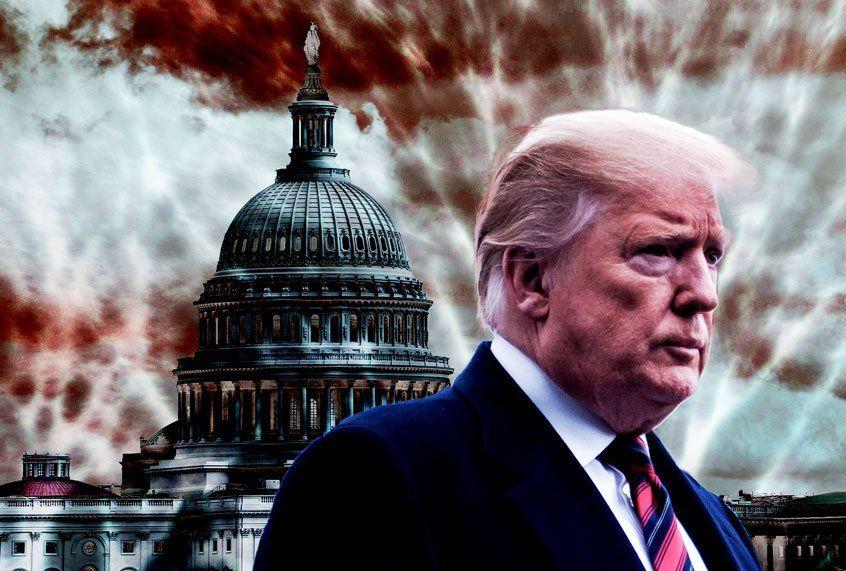 Trump gaat uit zoals hij binnenkwam: een verliezer, een leugenaar en een bedrieger