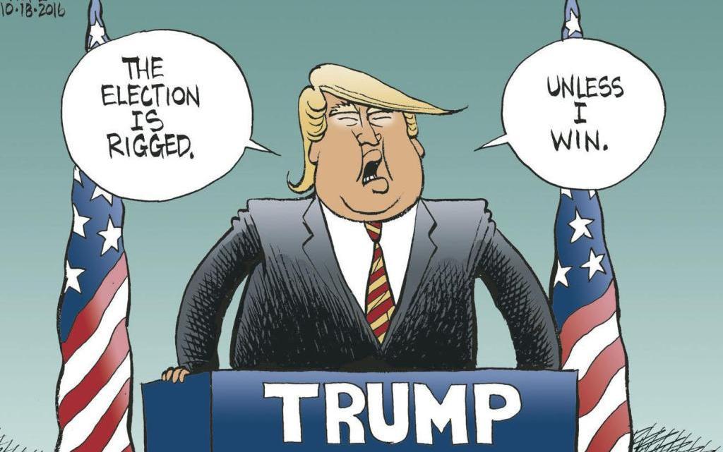 Donald Trump is een verliezer