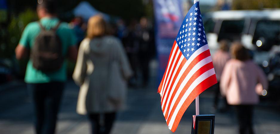 Samengehouden met touw, kan Amerika vasthouden?