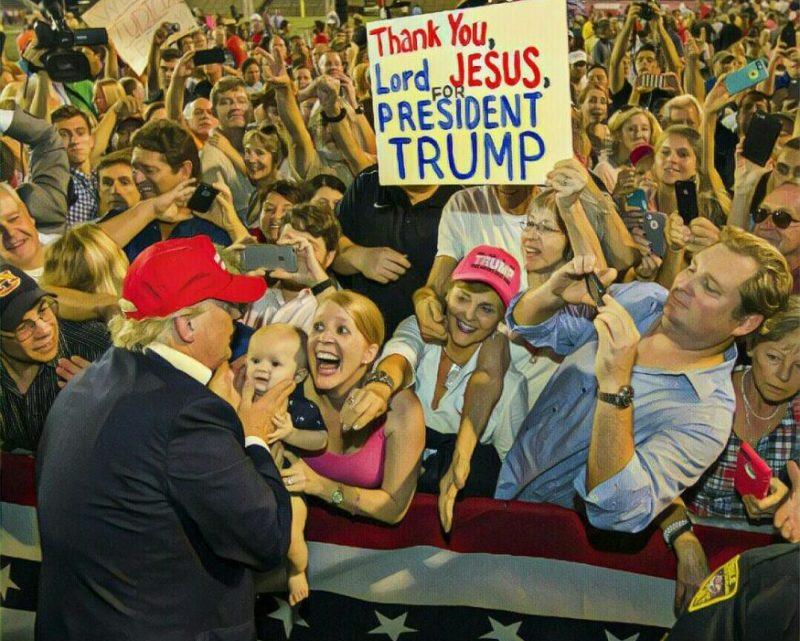 Een uitgebreide tijdlijn van Trump die haatgroepen en politiek geweld aanmoedigt.