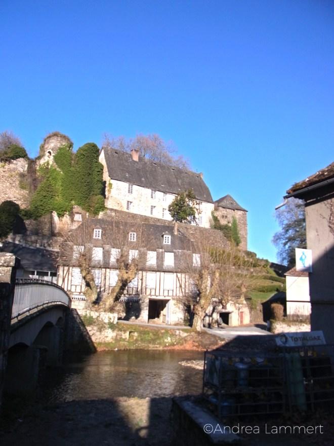 Segur le Chateau, Limousin, Frankreich