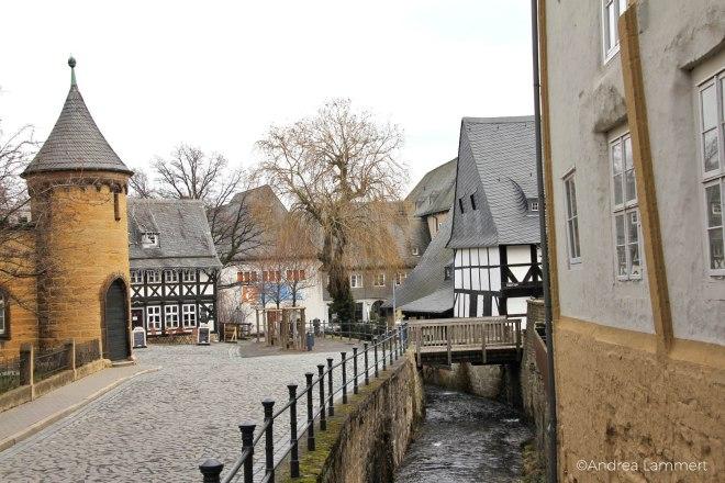Goslar, Ein Tag in Goslar, Fachwerk, Anzucht, Lohmühle