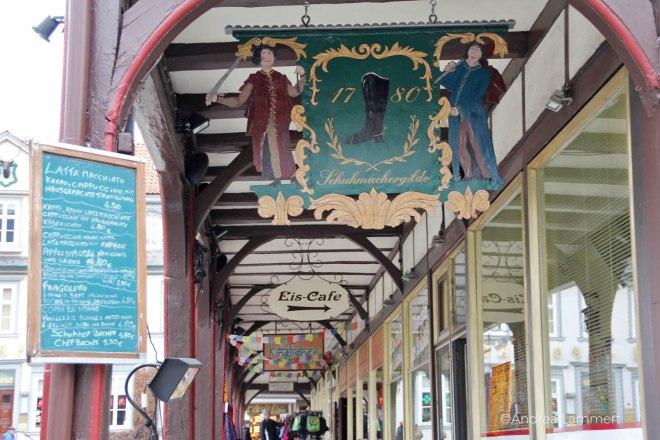 Goslar, Ein Tag in Goslar, Innenstadt; Hirschapothekee