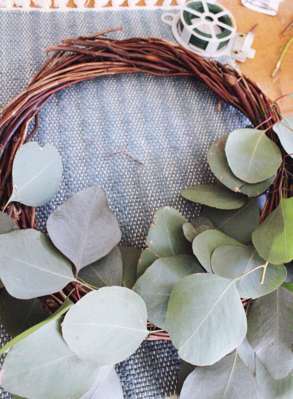 Create Your Own Spring Wreath
