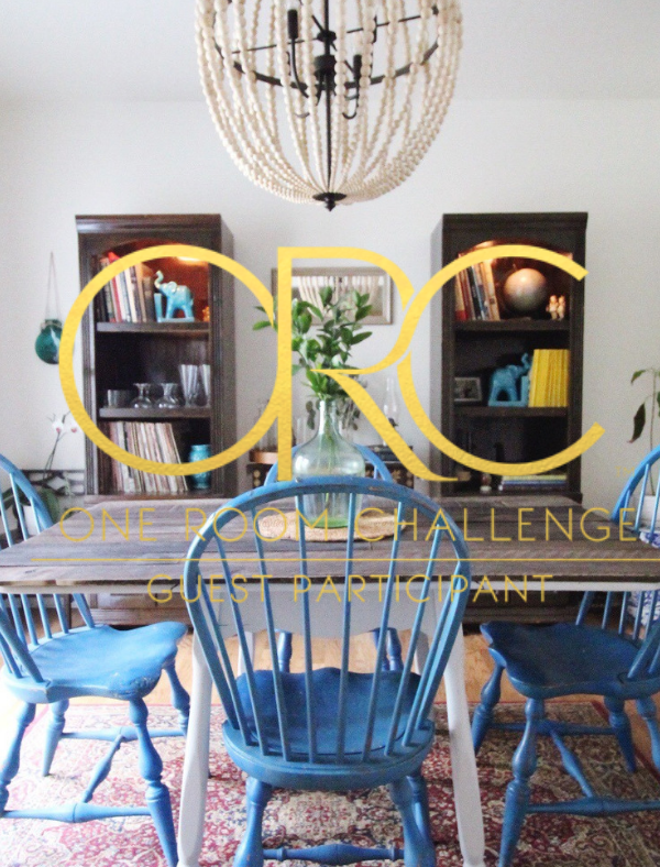 #OneRoomChallenge Week 2: Vintage Bohemian Dining Space