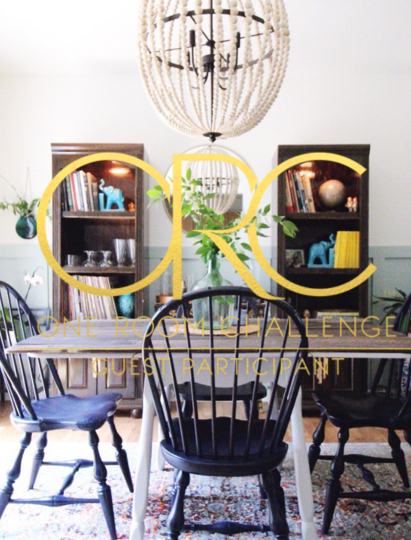 #OneRoomChallenge Week 5: Vintage Bohemian Dining Space