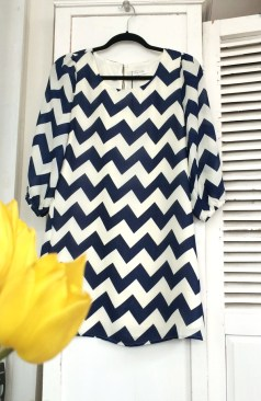 Sugarlips chevron dress, from the Juniors collection