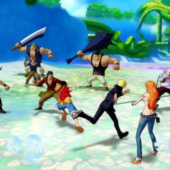 One Piece Unlimited World Red ingame