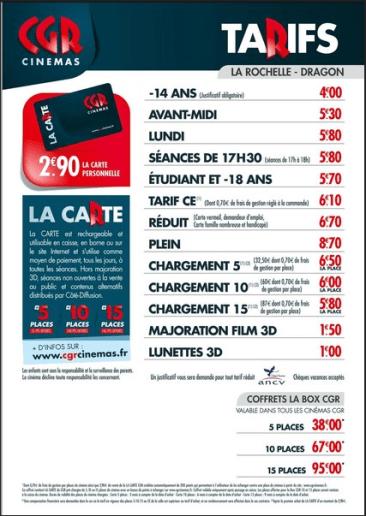 Tarifs-CGR-La Rochelle