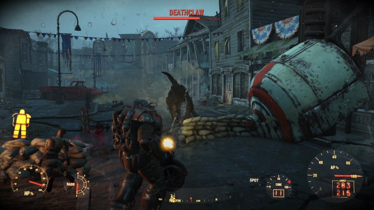 Fallout4_attack deathclaw