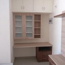 study table design, book shelf, loft