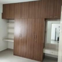 wardrobe, study table, dressing table, loft design