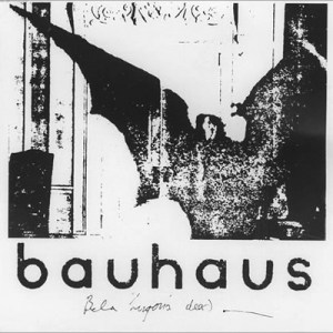 Cover for the goth anthem single Bela Lugosi's Dead