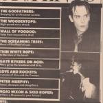 Peter Murphy B Side Magazine August 1988 Part 6
