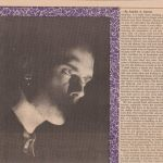 Peter Murphy B Side Magazine August 1988 Part 1
