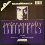 "Peter Murphy Indigo Eyes UK 7"" Box Set 1988 Box Front"