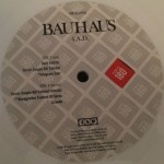 "Bauhaus In The Flat Field + 4AD UK 12"" 2008 D Label"
