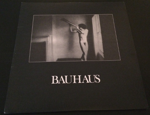"""Bauhaus In The Flat Field + 4AD UK 12"""" 2008 Front Cover"""