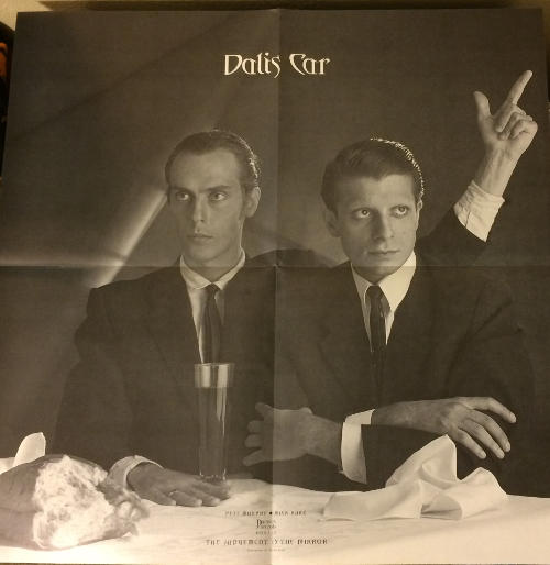"""Dalis Car The Judgement Is The Mirror UK 12"""" 1984 Poster"""