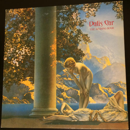 """Dalis Car The Waking Hour JP 12"""" Promo 1984 Front Cover"""