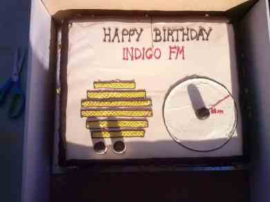 Happy Birthday to us! We celebrated 5 years of local radio in June 2015. Cake courtesy of Mark and Beechworth Bakery