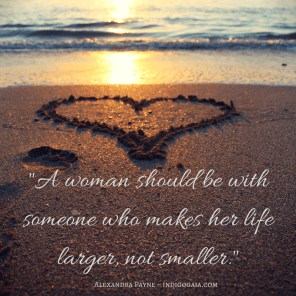 A woman should be