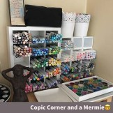 Copic Marker Corner