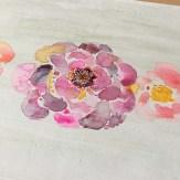 Watercolor Floral Process